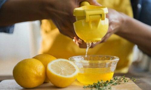Sok z cytryny pomaga opóźnić starzenie