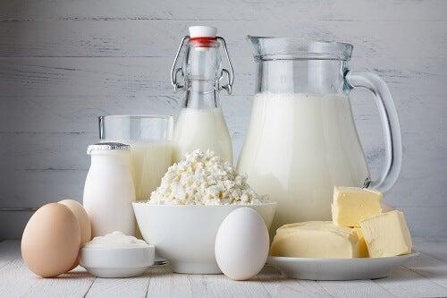 Przetwory mleczne bogate w wapń