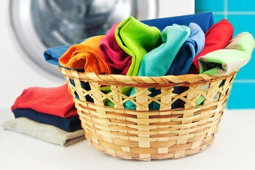 Czyste i miękkie ubrania