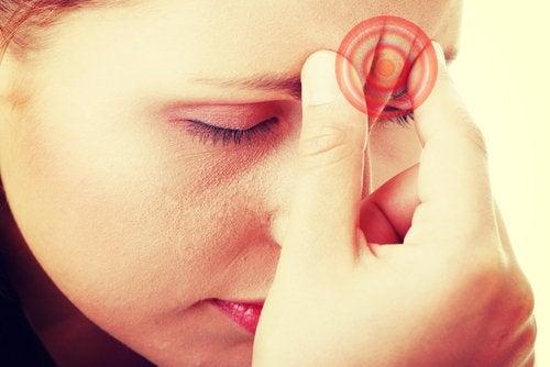 Silna migrena