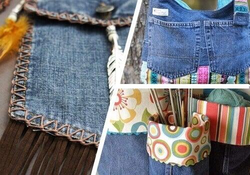 Stare dżinsy: 9 sposobów na ich ponownie użycie