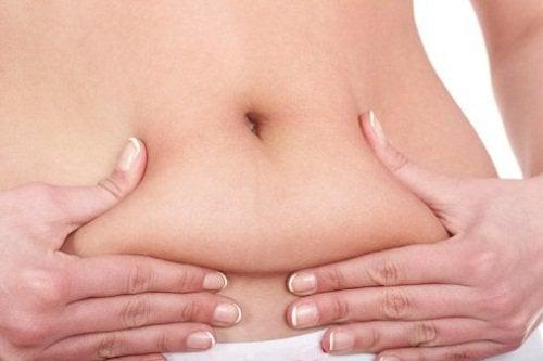 Tłuszcz na brzuchu