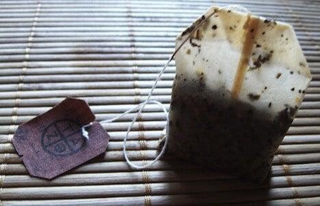 Torebka po herbacie