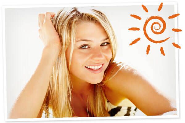 Uśmiechnięta kobieta