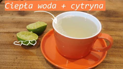 Woda z cytryną na czczo – korzyści i przygotowanie