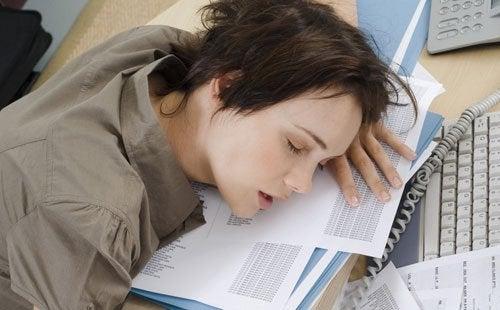 Wyczerpana kobieta