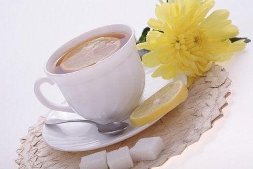 herbata ze skórką pomarańczową