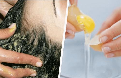 Domowe maski do włosów z jajka