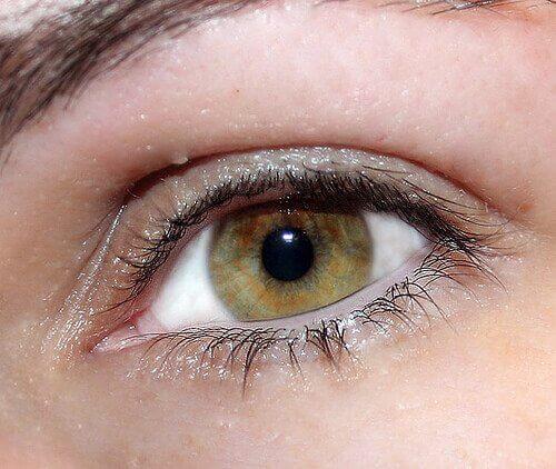 Błyszczące oko