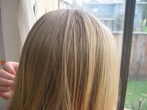 Włosy kobiety