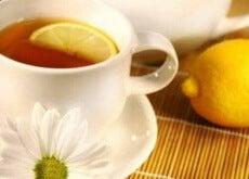 Napar z cytryną