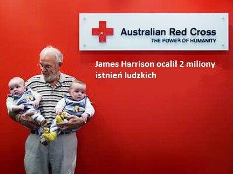 James Harrison dawca krwi
