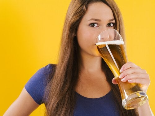 Piwo i skóra