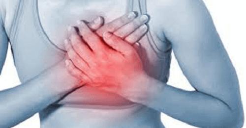 Ból serca a niedrożność tętnic wieńcowych