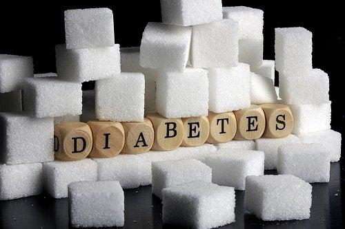 Diabetes otoczona cukrem
