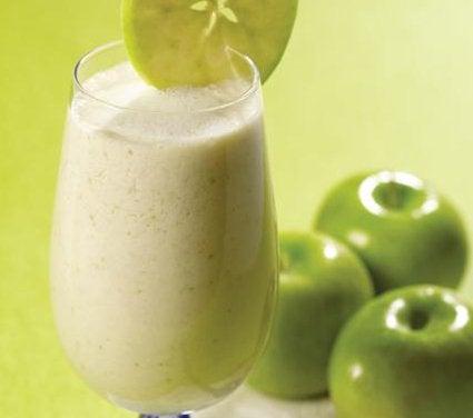 Koktajl z zielonych jabłek