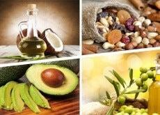 Żywność bogata w zdrowe tłuszcze