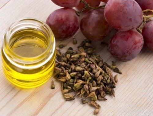 Olejek z winogron