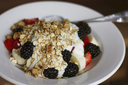 Płatki owsiane na śniadanie