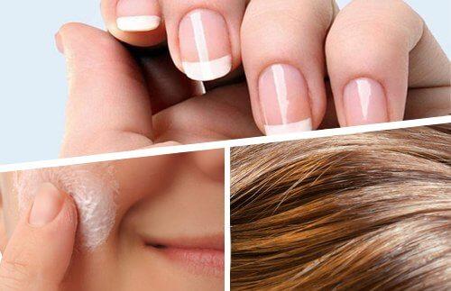 Paznokcie, skóra i włosy