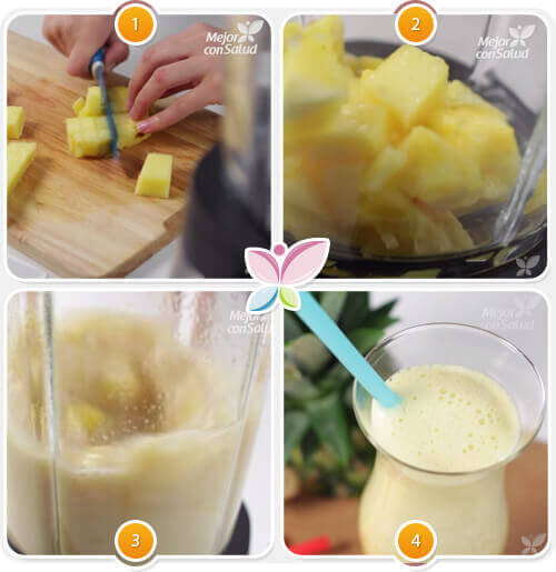 Przepis na sok ananasowy