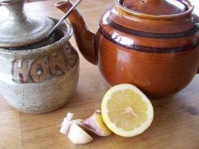 Herbata z czosnkiem