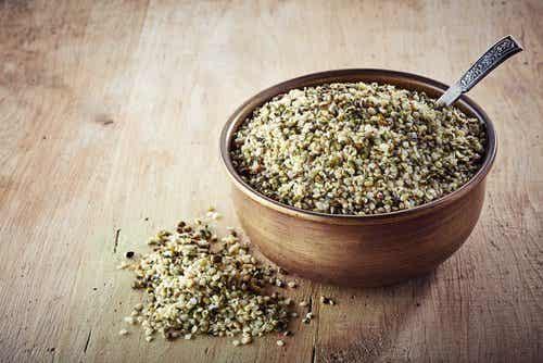 Nasiona konopi suplementem diety?