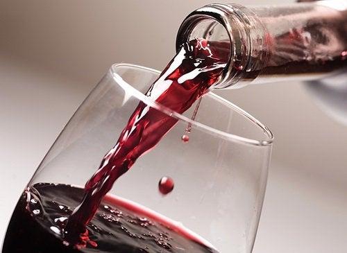 Kieliszek wina dobry dla zdrowia