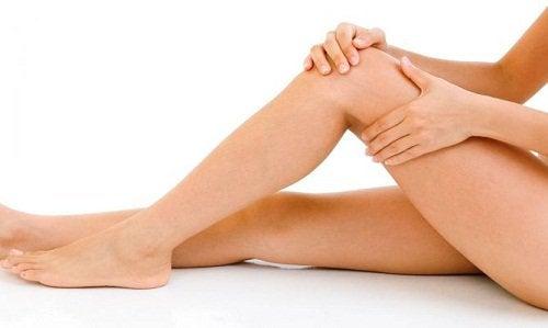 Idealnie gładkie nogi