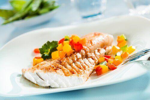 chrząstka a spożywanie owoców morza i ryb
