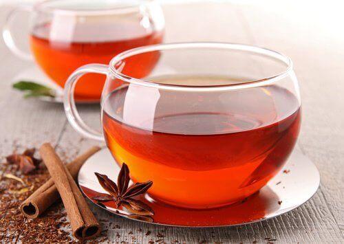 Herbata cynamonowa na gazy