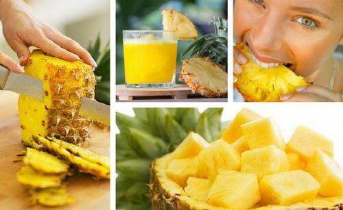 Zrób detoks przy użyciu ananasa