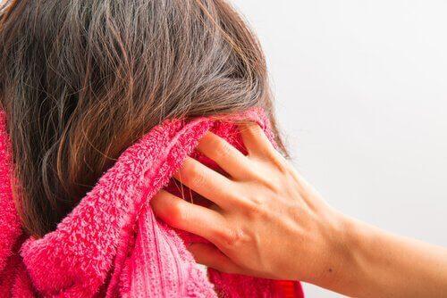Osuszanie włosów