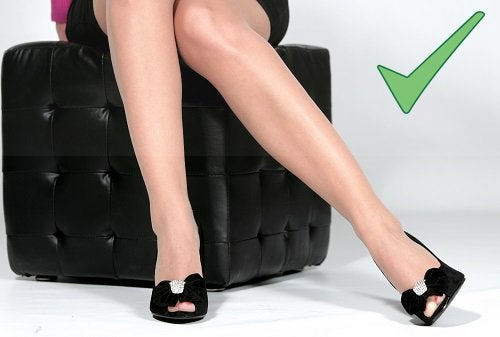 piękne i zadbane nogi