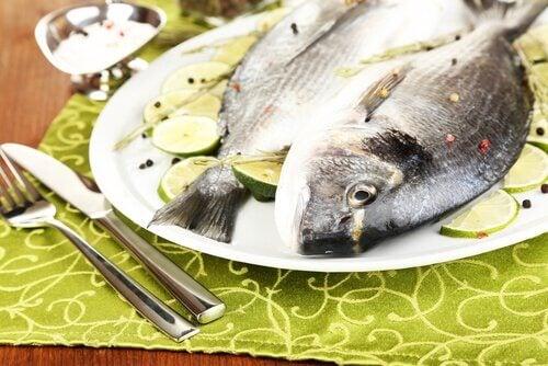 Ryby na talerzu