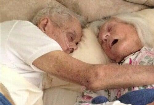 Małżeństwo zmarło razem po 75 latach