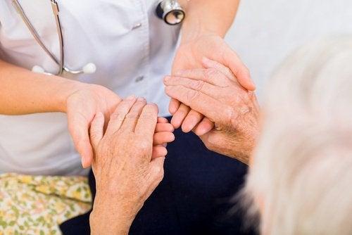 Artretyzm u starszej osoby