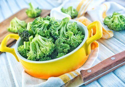 Brokuły gotowane