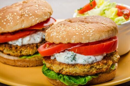 Hamburger wegetariański