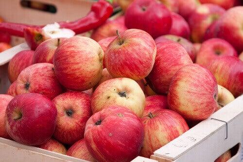 Jabłka - owoce zwalczające stany zapalny