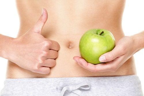 Jabłka i brzuch - lepsze trawienie