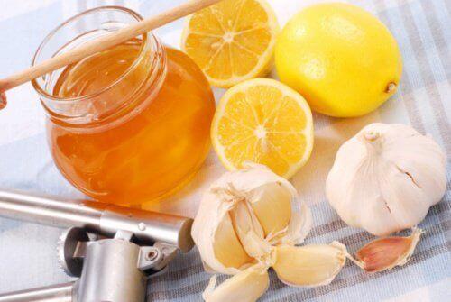 Naturalne antybiotyki - miód, cytryna, czosnek