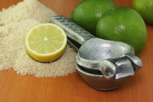 Peeling z cytryną