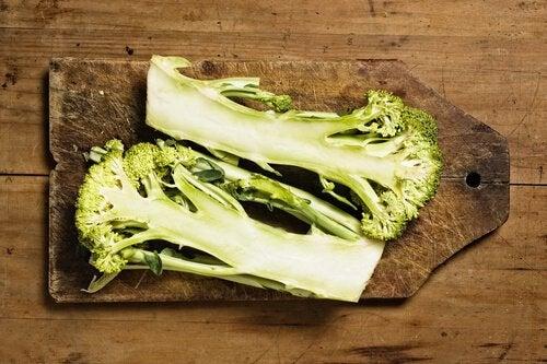Przekrojone brokuły