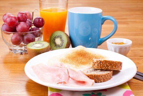 Utrata wagi: pożywne śniadanie