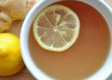 Cytryna w herbacie