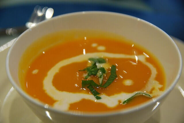 Zupa krem z dynii na zaparcia