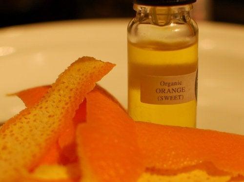 olejek pomarańczowy na grzybicę paznokci