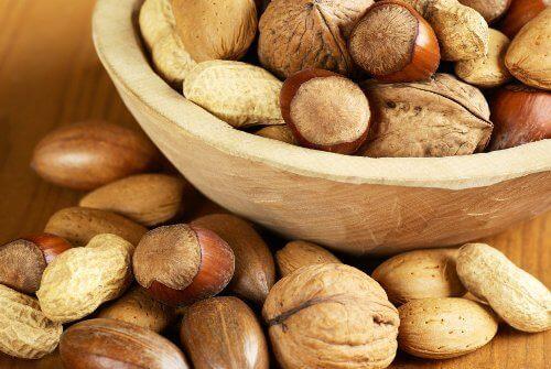 Orzechy - źródło kwasów tłuszczowych