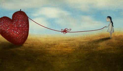 Emocjonalne uzależnienie - serce na sznurku